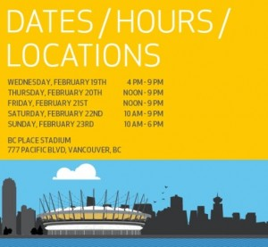 BCHGS14_Dates_hours_location